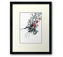 Wolverine - Red Sun Framed Print