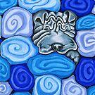 Wrinkles In Towels by offleashart