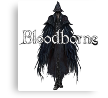 Raven Hunter from Bloodborne Canvas Print