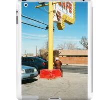 Cowboy in Albuquerque  iPad Case/Skin