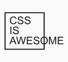 CSS Is Awesome  by GregWR