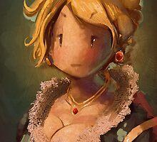 Lady JRPG VI by riendonut