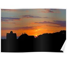 Bristow Sunset Poster