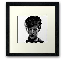 Matt Smith: The 11th Doctor Framed Print