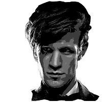 Matt Smith: The 11th Doctor Photographic Print