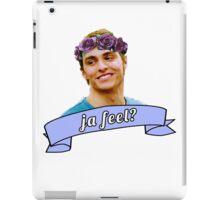 ja feel? - dave franco iPad Case/Skin