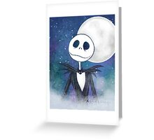 Jack Skellington Greeting Card