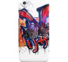 Epic Shiny Charizard Streetart Tshirts + More ' Pokemon ' iPhone Case/Skin