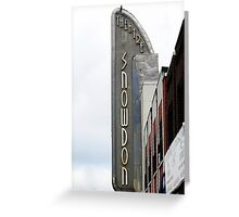 Snowdon Theatre Marquee © Greeting Card