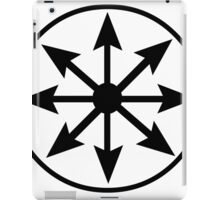 Chaos Star iPad Case/Skin