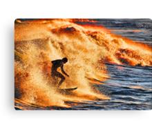 Adrenaline rush Canvas Print
