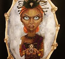 Mariette the Voodoo Queen by mistidoesart