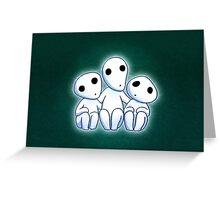 Tree Spirit Friends- Mononoke Greeting Card
