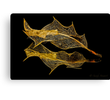 INTRICATE ( gold) Canvas Print