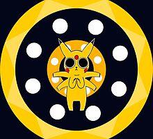 Pikachu's Trip - two circles by LameGhost