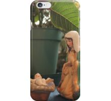 Window Nativity 2 iPhone Case/Skin