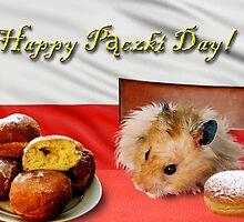 Paczki Day Hamster by jkartlife
