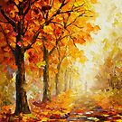 Symbols Of Autumn — Buy Now Link - www.etsy.com/listing/209745336 by Leonid  Afremov