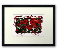 Holiday Bouquet Framed Print