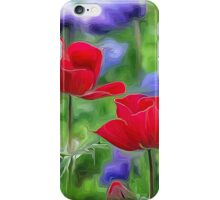 Two Sisters in Bloom iPhone Case/Skin