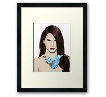 Lana Provocateur Framed Print