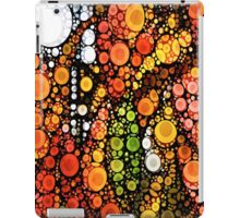 Fall Leaves and A White Moon iPad Case/Skin