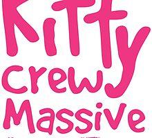 Kitty Crew Massive Tee by fetchingdogs