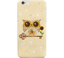 Owl's Autumn Song iPhone Case/Skin