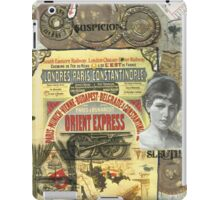 All Aboard!(The Orient Express) iPad Case/Skin