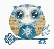 Winter Wonderland Owl Kids Clothes