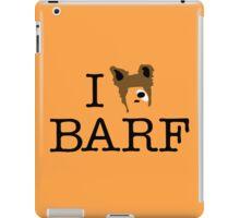 I Heart Barf iPad Case/Skin