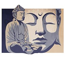 Buddha: the awakened one  by SFDesignstudio