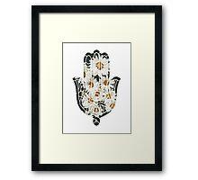 Daisy Hamsa Framed Print