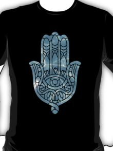 Water Ripple Hamsa T-Shirt