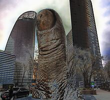 Thumbs Up @ La Defense, Paris, France 2012 by muz2142