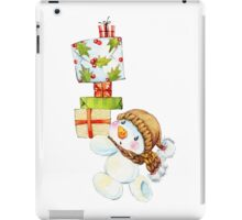 snowman. 02. New Year series iPad Case/Skin