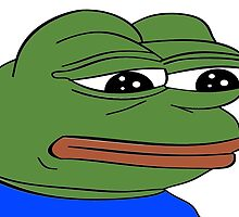 Sad Frog by Daftie