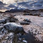 Sgurr Nan Gillean in Winter. Sligachan. Isle of Skye. Scotland. by photosecosse /barbara jones
