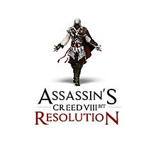 ASSASSIN'S CREED VIII BIT : RESOLUTION Photographic Print