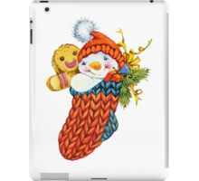 snowman. 04. New Year series iPad Case/Skin