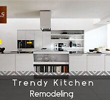 Trendy kitchen remodeling in O'Fallon, MO by tlshome