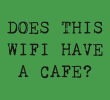 DOES THIS WIFI HAVE A CAFE? by Bundjum