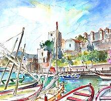 Collioure Harbour 01 by Goodaboom