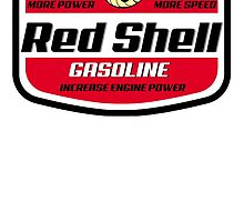 Red Shell Gasoline by CarloJ1956