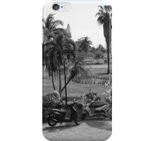 Motorcycle ride in Cuba iPhone Case/Skin