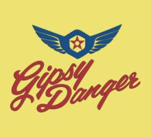 Gipsy Danger colour logo Kids Clothes