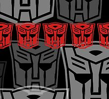 The Iconic Autobots by Vitalitee