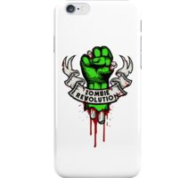 Zombie Revolution! iPhone Case/Skin