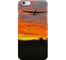 Bomber county: Lincolnshire sunset 1943 iPhone Case/Skin