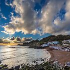 Steephill Cove Cloudscape by manateevoyager